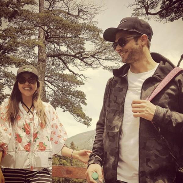 Paulina Goto y Horacio Pancheri siguen de vacaciones en Argentina