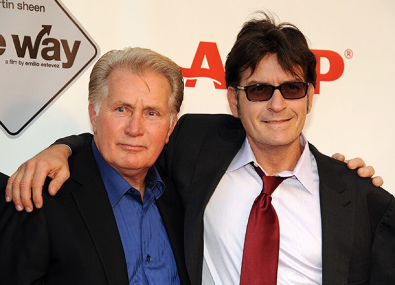 """El actor Martin Sheen está orgulloso de lo """"valiente"""" que ha sido su hijo al admitir que es VIH positivo y ha querido mostrarle todo su apoyo."""