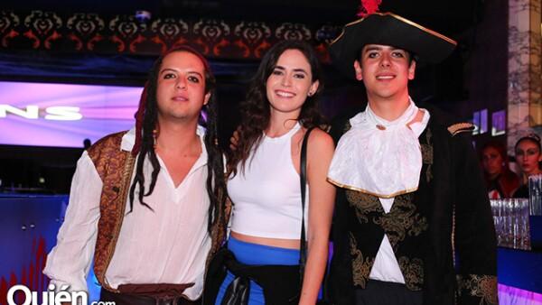 Gerardo Favila,Lorena Guillen y Eduardo Salgado