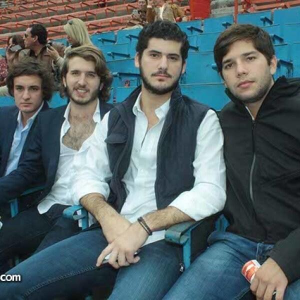 Jorge Reina,Álvaro Ojeda,Alfonso Sánchez-Aedo,Enrique Domínguez y Alfonso Marenco