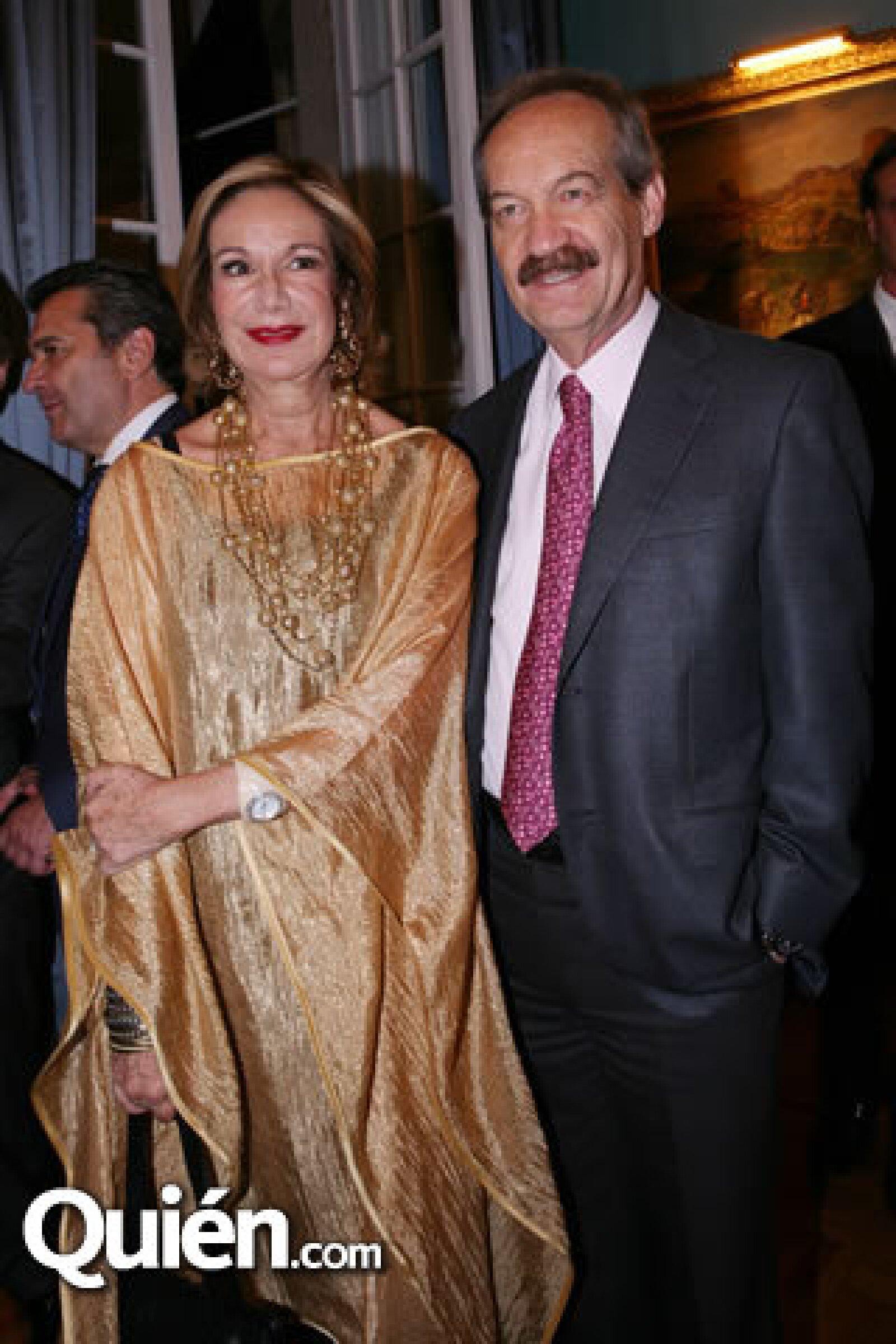 Guadalupe Loaeza y Enrique Goldbard