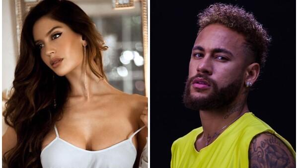 Natalia Barulich y Neymar