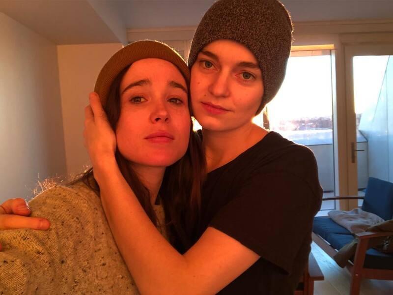 Emma Portner y Ellen Page