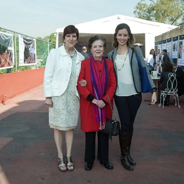 Alejandra Álvarez,María Luisa Cosío Ducoing,Nina Pedrazzi