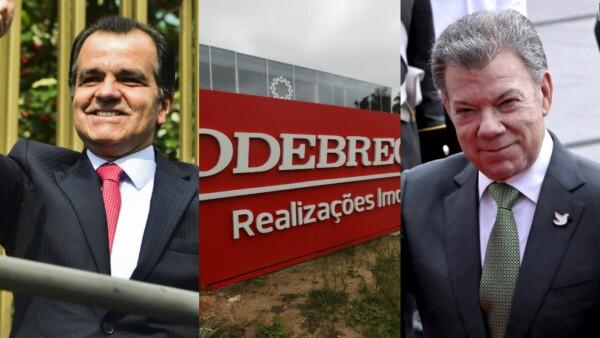 Escándalo de Odebrecht salpica campañas de Santos y Zuluaga en Colombia
