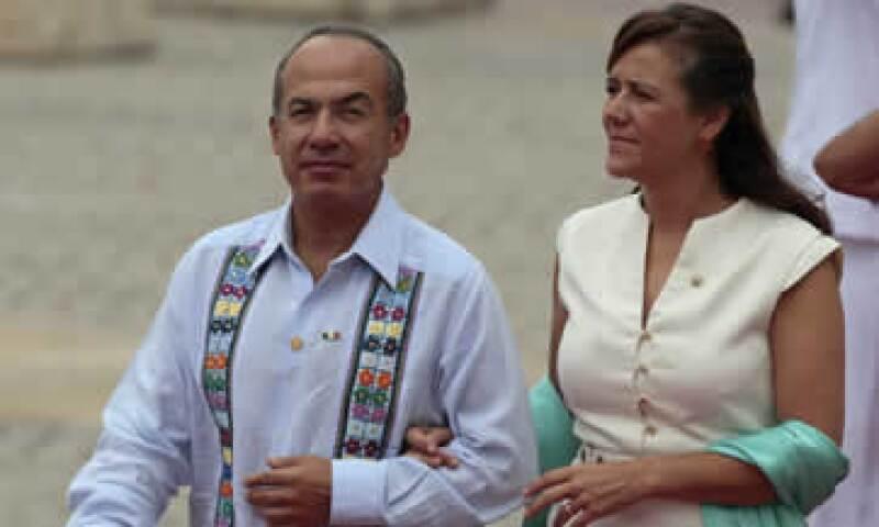 El presidente Calderón Hinojosa también realizará una visita oficial con el fin de estrechar vínculos entre México y Chile. (Foto: AP)