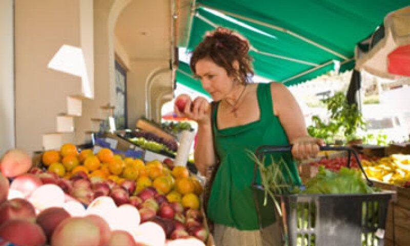 La inflación general fue menor al 0.19% visto en igual mes de 2011. (Foto: Thinkstock)