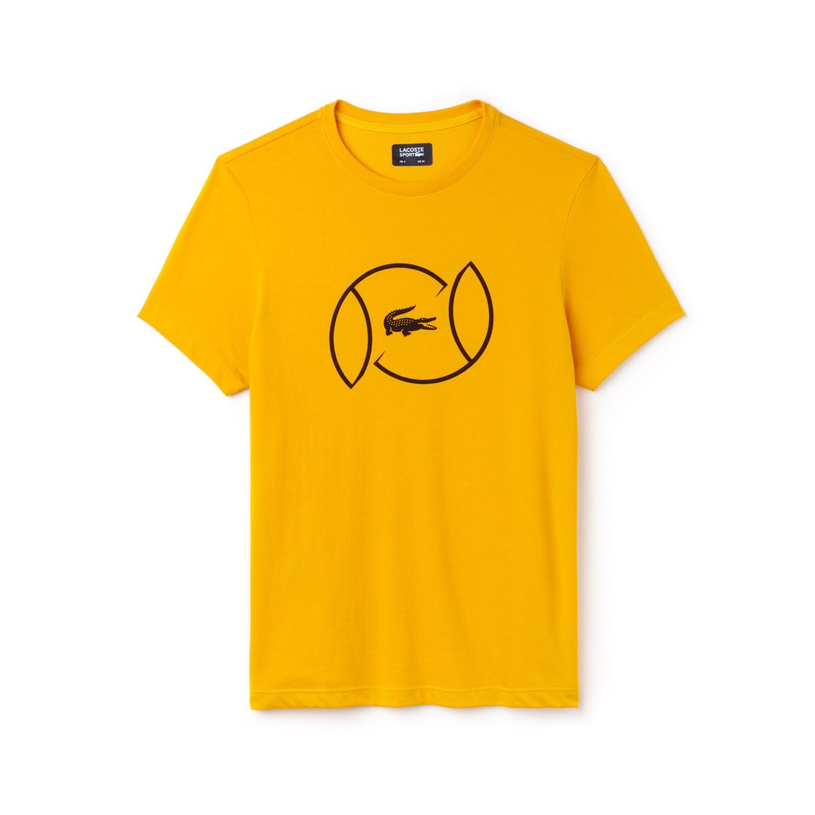 T-shirt amarilla para jugar golf