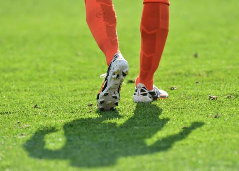 Pasto del duelo Holanda vs. Chile, en Brasil