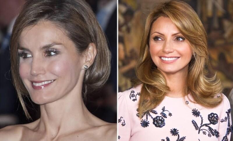 Letizia y Angélica recientemente optaron por innovar en su estilo de pelo.