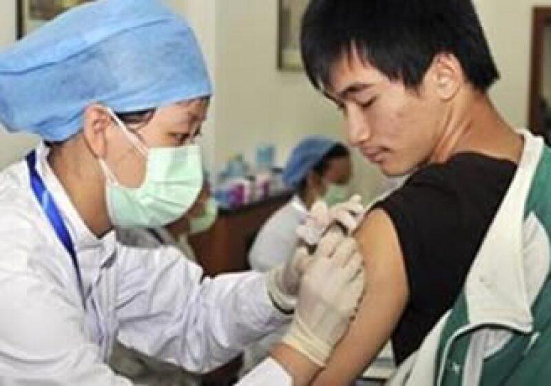 El Gobierno chino busca que el 5% de la población esté vacunada contra el H1N1. (Foto: Reuters)