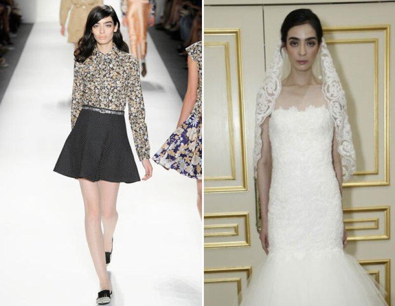 El impacto de Cristina Piccone fue tal en los desfiles ready-to-wear, que Marchesa la buscó para Bridal Week.