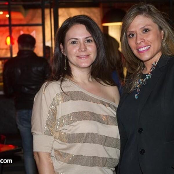 Alejandra Vara y Melissa Rebolledo