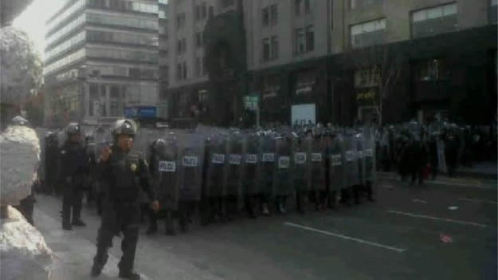 Protestas-San Lázaro- Tom1a de posesión 2
