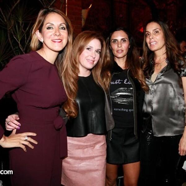 Mari Rouss Sandhú,María Fernanda Arceo,Karla Maciel y Luliana Vázquez