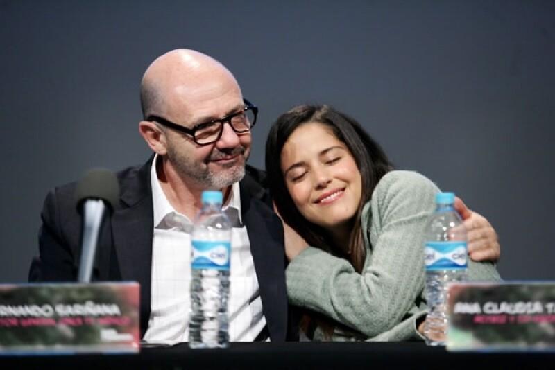 Ana Claudia y Fernando Sariñana.