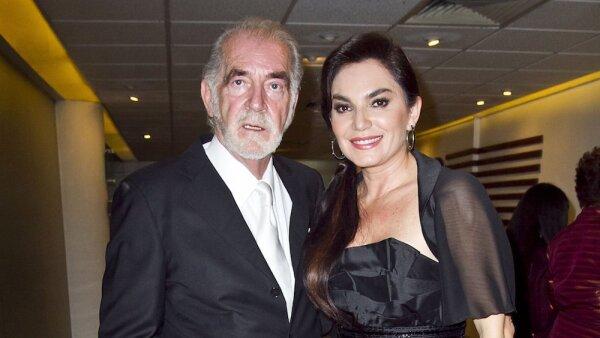 Fernando Luján y Martha Mariana Castro