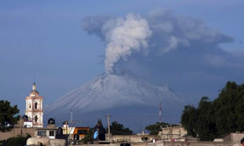 El Popocatépetl es uno de los volcanes más grandes de Norteamérica. (Foto: Notimex)