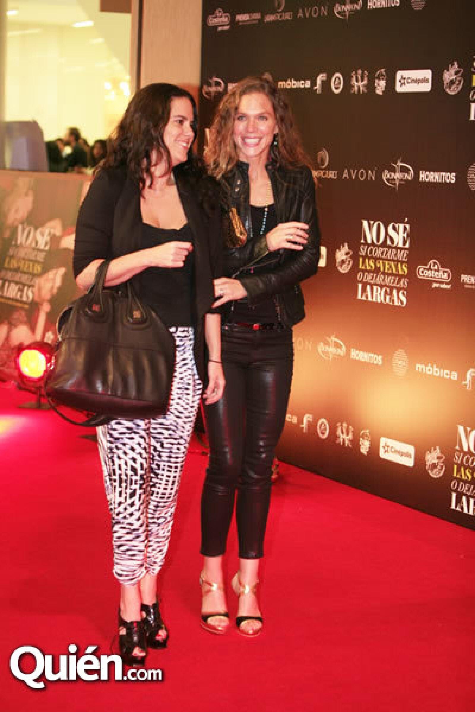 Claudia López y Sylvia Rovzar