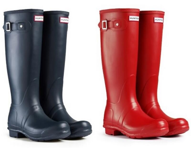 Nuestras botas favoritas son las Hunter, ¡le dan un giro moderno y edgy a tu look!