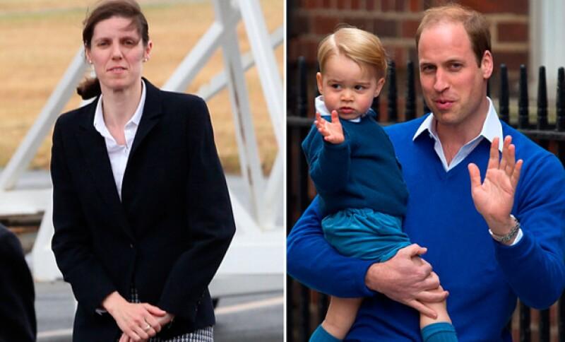 La nana del príncipe George ahora también es la encargada de cuidar a la princesa Charlotte.