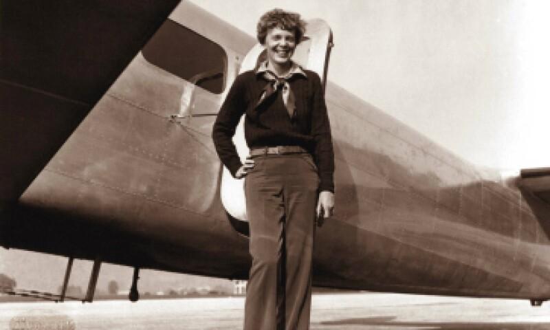 """Una imagen de Earhart """"coqueta ante la cámara"""". (Foto: AFP/ ALBERT BRESNIK)"""