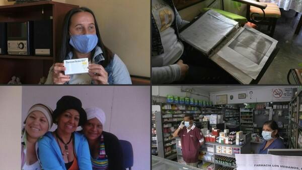 """""""El cáncer no espera"""", clama maestra por enfermos de Venezuela en plena pandemia"""