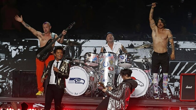 superbowl bruno mars red hot chili peppers halftime