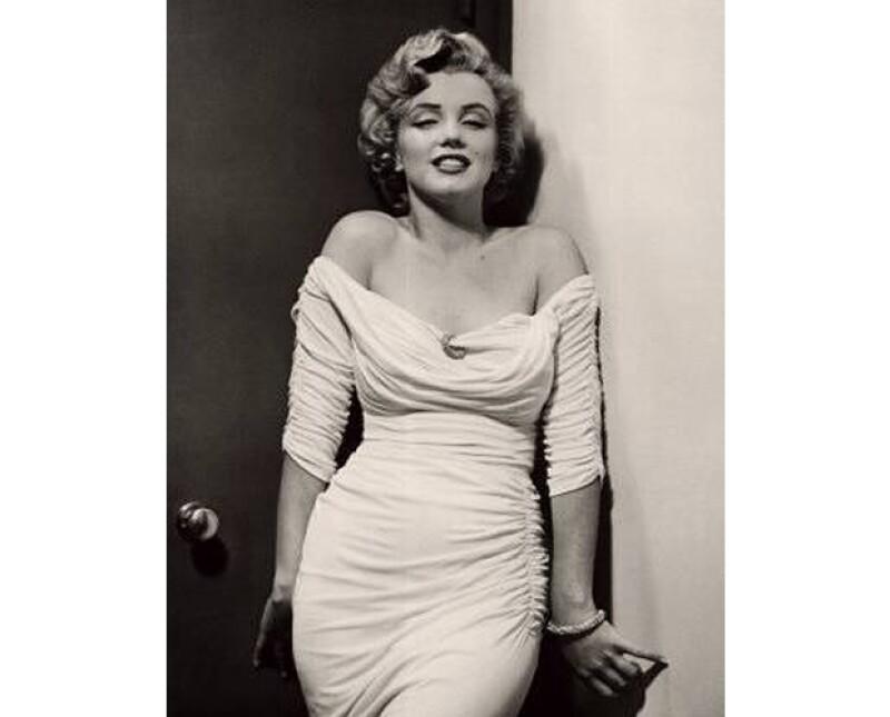 Marilyn Monroe fue famosa por su curvilínea figura.
