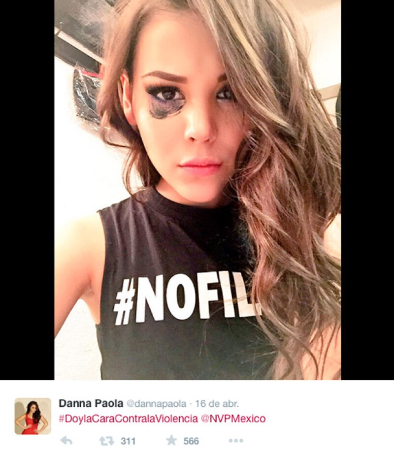 Danna Paola ha sido una de las celebridades que más ha sido mencionada en este movimiento que dio inicio durante la visita de Ringo Star a México.