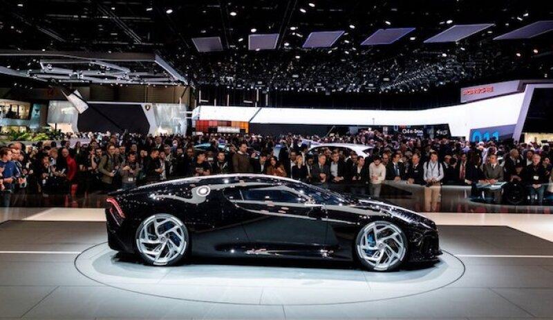Bugatti modelo La Voiture Noire