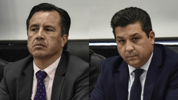 Gobernadores de Veracruz y Tamaulipas