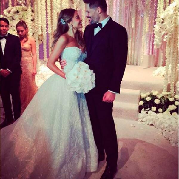 Sofia y Joe se juraron amor eterno frente a 400 invitados. Familiares y amigos de la pareja presenciaron el inolvidable momento.