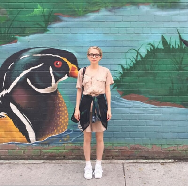 Así se ve actualmente la blogger, Tavi Gevinson.