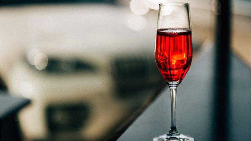 Cócteles con vino