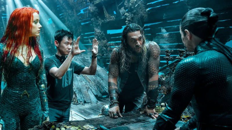 James Wan dirigiendo Aquaman.