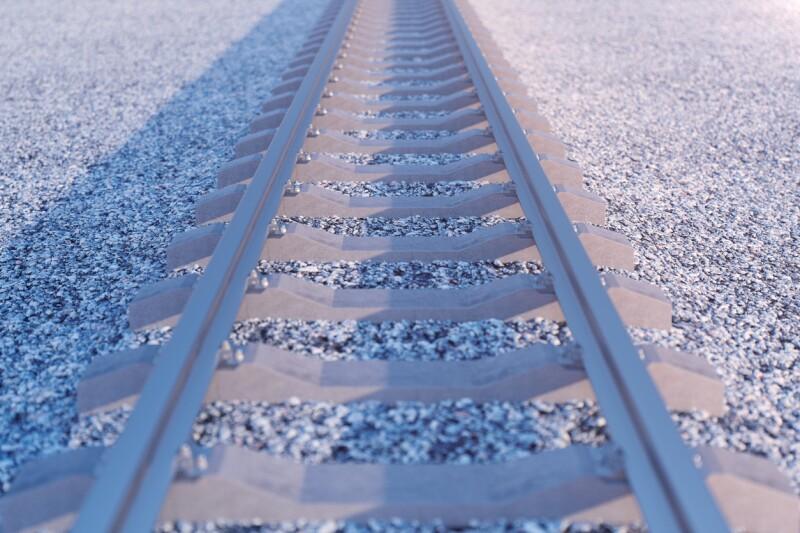 via de tren ferrocarril vias riel camino ruta soledad