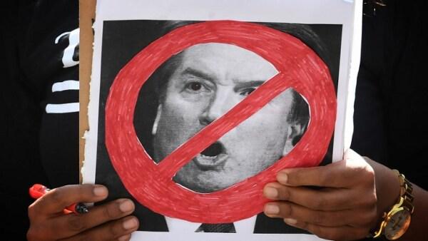 Kavanaugh Corte Suprema protesta