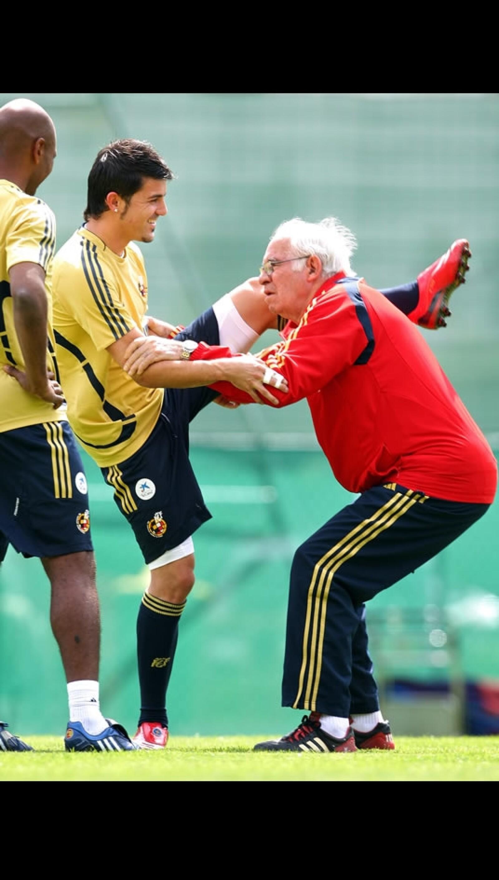 Aragonés era muy cercano con los jugadores
