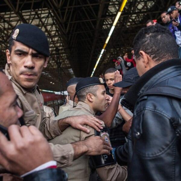 Las huelgas en sectores como el transporte público y la policía han sido comunes en Brasil en los últimos días.