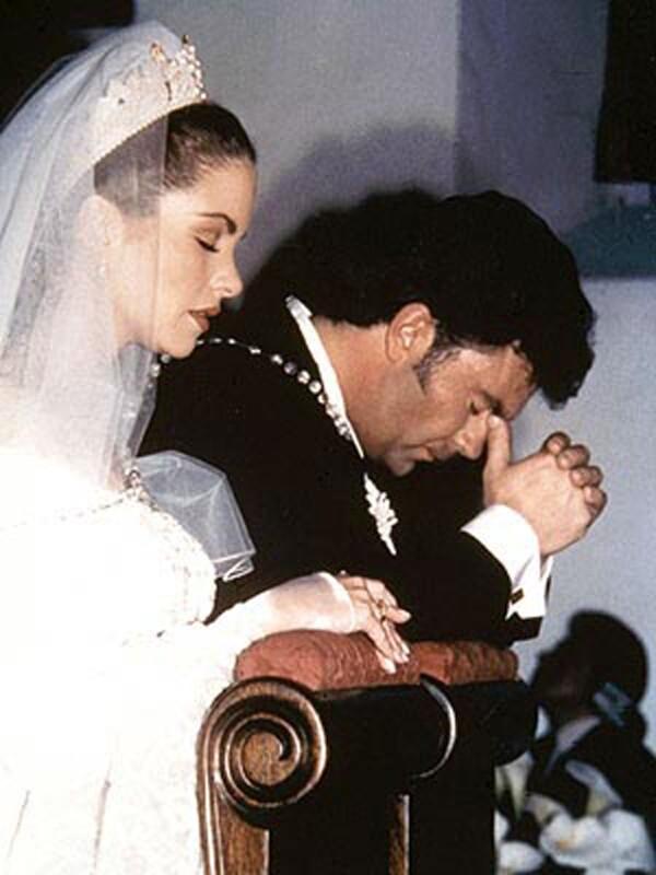 Lucero y Mijares boda