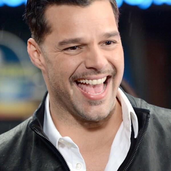 Ricky Martin cumple 42 años el 24 de diciembre.
