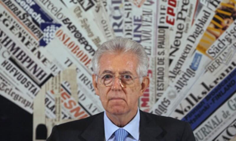 Monti reconoció que en riesgo está toda Europa, víctima de una crisis que corre el peligro de volverse sistémica. (Foto: Reuters)