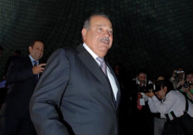 Carlos Slim encabezó por segundo año consecutivo la lista de los hombres más ricos del mundo de la revista Forbes. (Foto: Notimex)