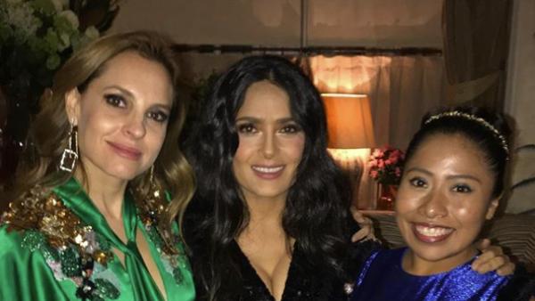 Yalitza Aparicio, Salma Hayek y Marina de Tavira