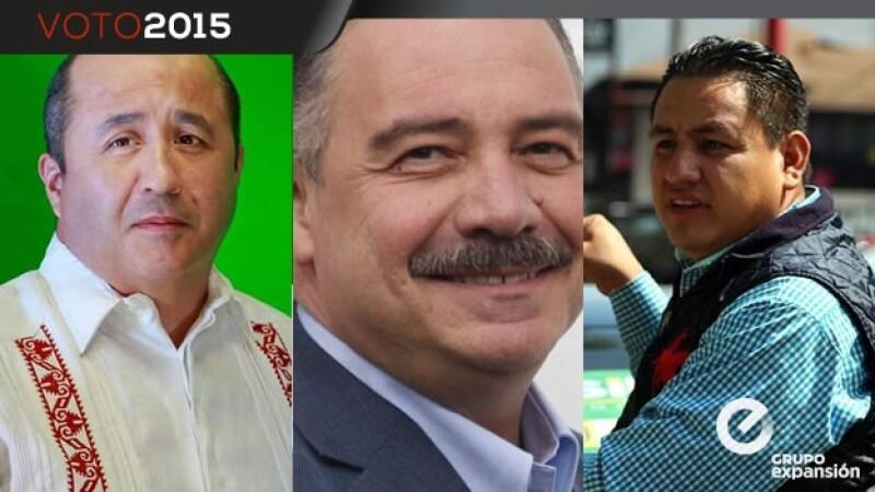 Candidatos en Uruapan