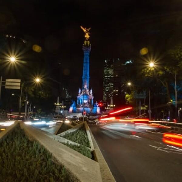 mexico, ciudad, alumbrado