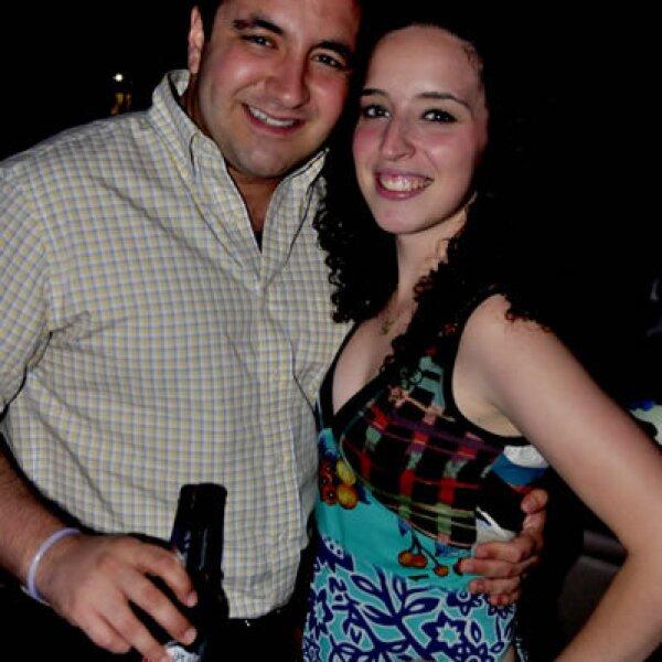 Miguel Brunell y Diana Garza
