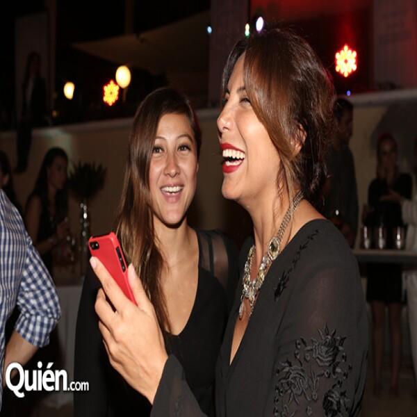 Brenda Barrero y Roxana Galindo