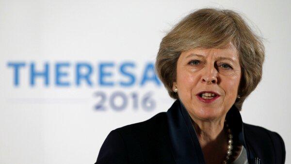 La conservadora ha sostenido la postura de que no intentará revertir el 'brexit'.